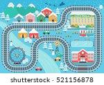 Lovely Snowy City Landscape...