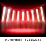 empty stadium. vector... | Shutterstock .eps vector #521162158