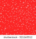 christmas seamless pattern with ... | Shutterstock .eps vector #521165512