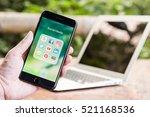 chiang mai  thailand   november ... | Shutterstock . vector #521168536