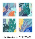 set of creative universal... | Shutterstock .eps vector #521178682
