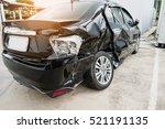 car crash accident damaged... | Shutterstock . vector #521191135