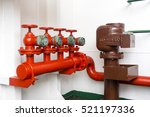 fire water line for back up and ... | Shutterstock . vector #521197336