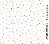 memphis seamless pattern design ... | Shutterstock .eps vector #521198212