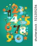 Learn Numbers. Cute Educationa...