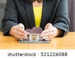 home insurance concept | Shutterstock . vector #521226088