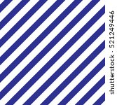 seamless blue diagonal lines... | Shutterstock .eps vector #521249446