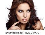 portrait of sexy woman | Shutterstock . vector #52124977