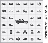 car icons universal set for web ... | Shutterstock .eps vector #521255032