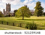 Ely Cathedral  England. The...
