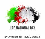 uae national day celebration... | Shutterstock .eps vector #521260516