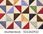 Handmade Patchwork Quilt As...