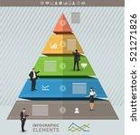 triangular presentation... | Shutterstock .eps vector #521271826