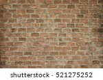 Brown Brick Wall Background An...