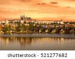 Charles Bridge And Prague...