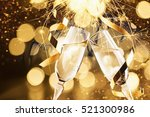 new year's eve celebration... | Shutterstock . vector #521300986