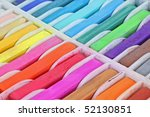close view square pastels | Shutterstock . vector #52130851