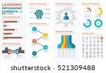 learning  education  school ... | Shutterstock .eps vector #521309488