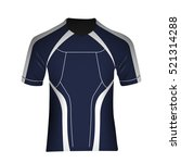 isolated man sport uniform on a ... | Shutterstock .eps vector #521314288