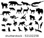 animal | Shutterstock .eps vector #52132258