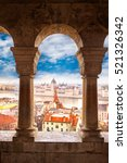 view of budapest parliament... | Shutterstock . vector #521326342