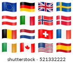 collection of different eu and... | Shutterstock .eps vector #521332222