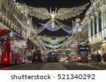 london   november 18  2016  red ... | Shutterstock . vector #521340292