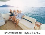 friendship and vacation. party... | Shutterstock . vector #521341762
