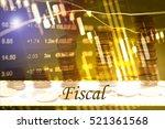 fiscal   abstract digital... | Shutterstock . vector #521361568