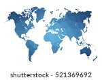 world map blue vector... | Shutterstock .eps vector #521369692