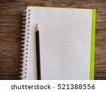 Empty Notebook Paper For Text...