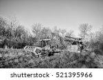 Two Vintage Harvest Swathers...