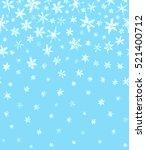 winter background of watercolor ... | Shutterstock . vector #521400712