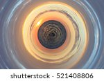little sea planet   a vision of ... | Shutterstock . vector #521408806