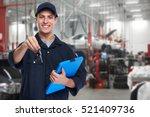 car mechanic. | Shutterstock . vector #521409736