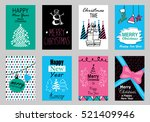 collection of flat design... | Shutterstock .eps vector #521409946