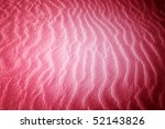 beach with soft sand  rippled... | Shutterstock . vector #52143826