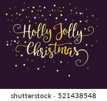 luxury greeting rich card. | Shutterstock .eps vector #521438548