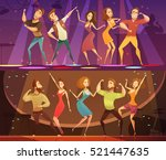 night club disco party free... | Shutterstock .eps vector #521447635