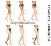 compression knitwear for... | Shutterstock .eps vector #521459185