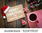 merry christmas christmas...   Shutterstock . vector #521473525
