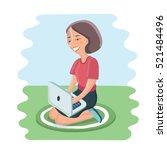vector cartoon illustration of...   Shutterstock .eps vector #521484496
