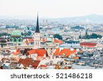 view of old town from st.... | Shutterstock . vector #521486218
