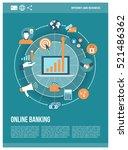 business  marketing  finance...   Shutterstock .eps vector #521486362