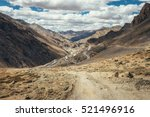 endless road leh manali in... | Shutterstock . vector #521496916
