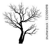 vector tree. | Shutterstock .eps vector #521500498