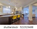 modern  bright  clean  kitchen... | Shutterstock . vector #521523688
