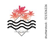 palm tree  summer graphic with...