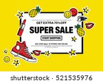 """get extra 70  off. super sale. ... | Shutterstock .eps vector #521535976"