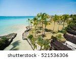 resort at atlantic ocean in... | Shutterstock . vector #521536306